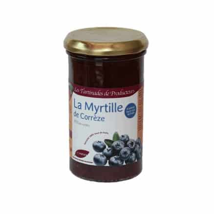 Tartinade Myrtille