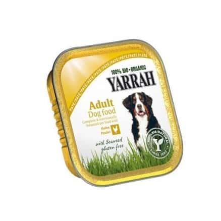 Yarrah Pâté au Poulet pour Chien Barquette 150 g