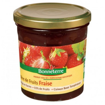 Confiture Rêves de fruits Fraise