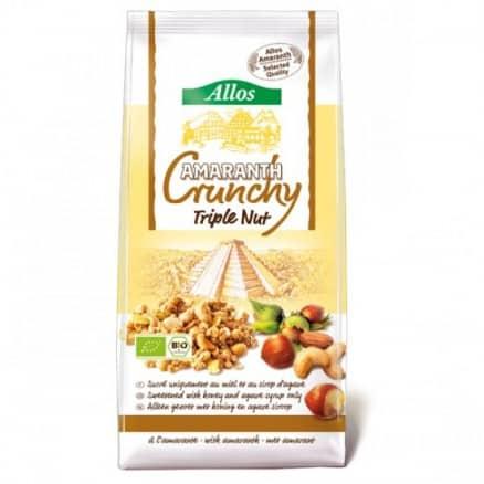 """Crunchy Amaranth aux trois """"noix"""""""