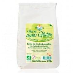 Farine de riz 1/2 complète sans gluten