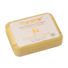 Savon traditionnel cannelle orange