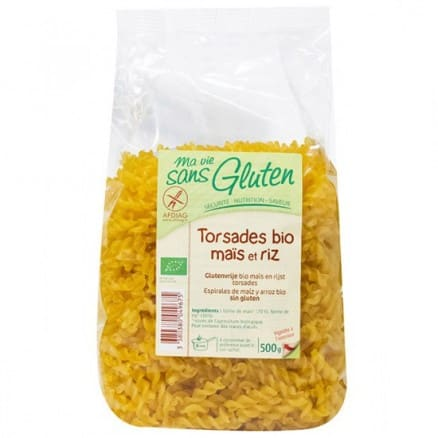 Ma vie sans Gluten Torsades maïs et riz 500 g