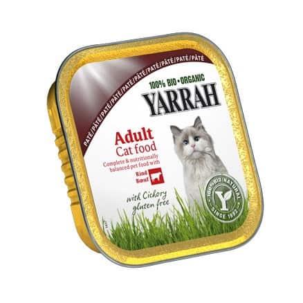 Terrine pour chat boeuf chicorée