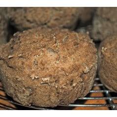 Petits pains sans gluten à la vapeur