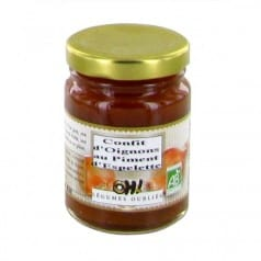 Confit oignon piment espelette