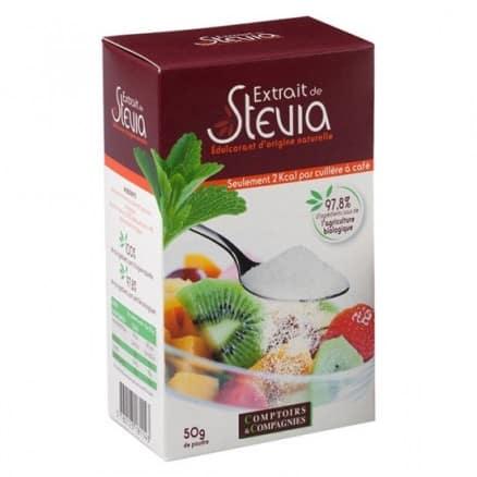 Comptoirs & Compagnies Extrait de Stévia Poudre 50 g
