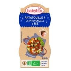 Bol Bonne Nuit Ratatouille à la Provençale & Riz Babybio