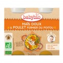 Petit pot Maïs Doux & Poulet fermier du Poitou