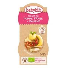 Bols Ecrasé de Pomme, Fraise & Banane