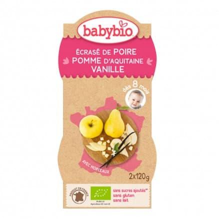 P'tits fruits Poire Pomme Vanille
