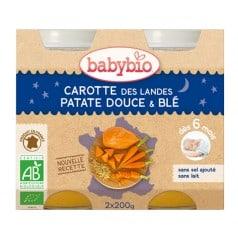 Petit Pot Carotte des Landes, Patate douce & Blé