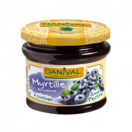 Danival Préparation à la myrtille sans sucre