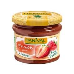 danival Préparation à la fraise sans sucre