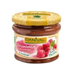 danival Préparation à la framboise sans sucre