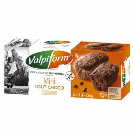 Mini tout chocolat sans gluten