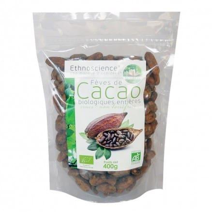 Fèves de Cacao biologiques entières