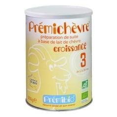 Prémichèvre Croissance 3 ème âge