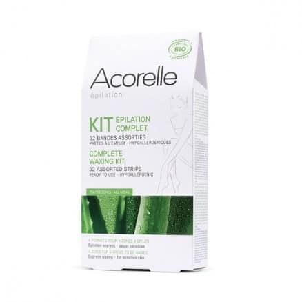 Acorelle Kit Epilation Complet 32 bandes