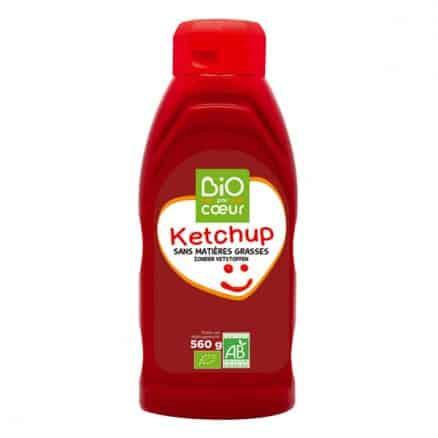 Ketchup en flacon souple