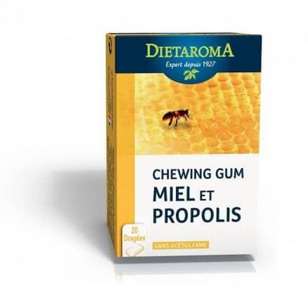 Dietaroma Chewing gum Miel et Propolis