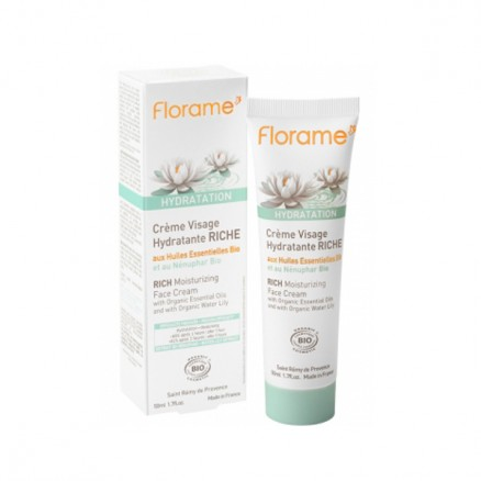 Crème visage hydratante riche