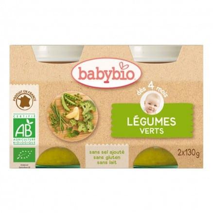 Petit Pot bébé - légumes verts 130g X2