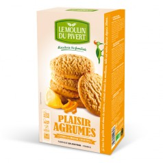 Biscuits Plaisir Agrumes
