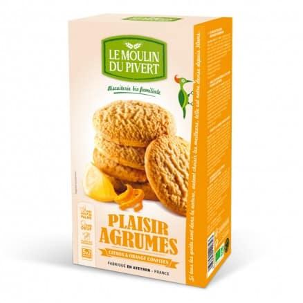 Cookies Plaisir Agrumes le moulin du pivert