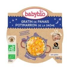 Assiette bébé Gratin de Panais & Potimarron de la Drôme 260g