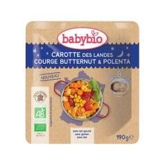 Doypack bébé Carotte des Landes, Courge Butternut & Polenta 190g