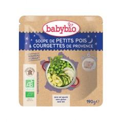 Doypack bébé Soupe de Petits Pois & Courgettes de Provence 190g