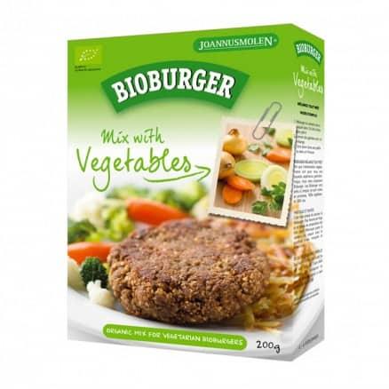 Bioburger aux légumes de Joannusmolen