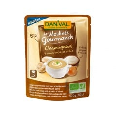 Soupe Moulinés Gourmands Champignons et crème 50 cl