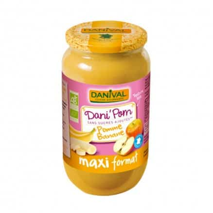 Maxi DaniPom Pomme & Banane 1,075 kg Danival