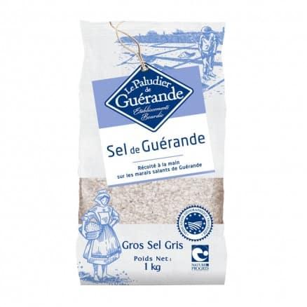 Sel gros de gu rande 1 kg le paludier - Gros sel pour desherber ...