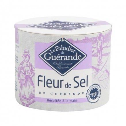 Le paludier Fleur de Sel de Guérande Boîte 125 g