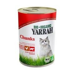 Bouchée Poulet et bœuf pour chat de yarrah