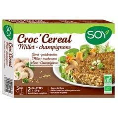 Croc'céréales Millet Champignons bio de soy