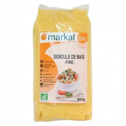Semoule de maïs fine bio Markal