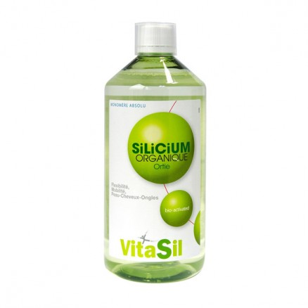 Silicium organique solution buvable