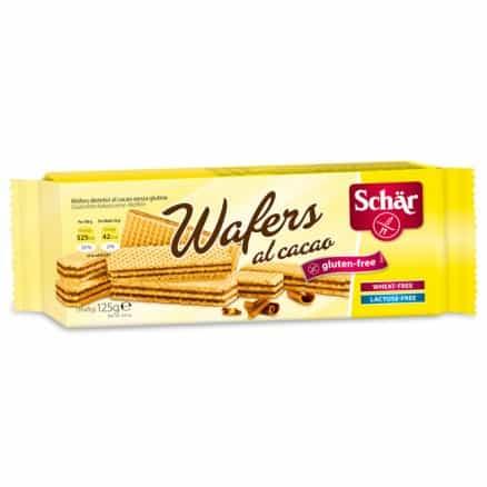 Gaufrette au cacao sans gluten Wafer