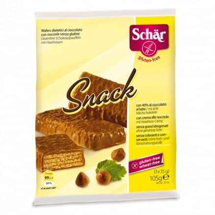 """Gaufrette au chocolat sans gluten """"Snack"""""""