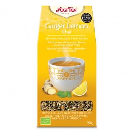 Yogi tea Gingembre Citron Vrac