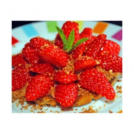 Tarte aux fraises dernière minute