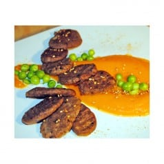 Gnocchis à la Tapenade sauce aux épices