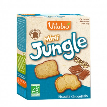 Biscuit mini Jungle de Vitabio