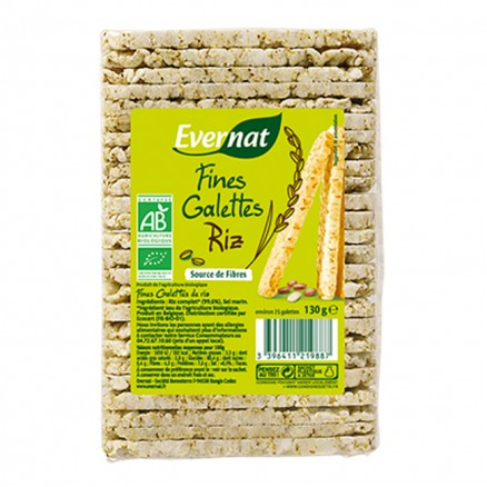 Galettes de riz Fines