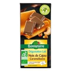 Chocolat au Lait Noix de Cajou Caramélisées