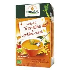 Velouté Tomate & Lentilles Corail
